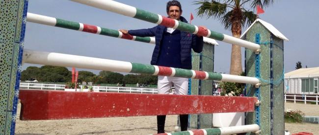 El jinete sevillano Manuel Fernández Saro,