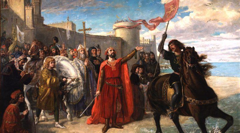 Alfonso X El Sabio tras la toma de Cádiz.