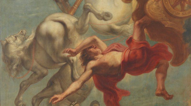 La caída de Faetón.