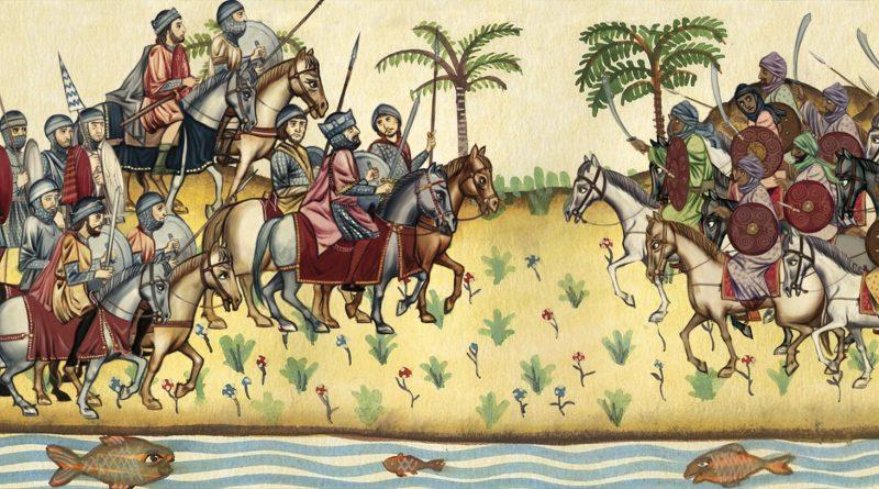El final de Don Rodrigo en la Batalla del Guadalete.