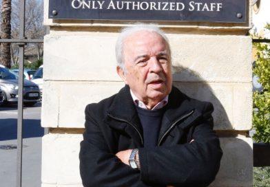 El locutor, recientemente en Jerez. Foto: Manuel Pascual/Diario de Jerez.