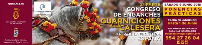 Cartel del I Congreso Guarnición a la Calesera.