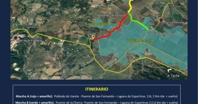 Convocada la I Marcha por la Recuperación de las Lagunas de La Janda
