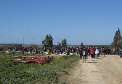 Multitudinaria marcha por la recuperación de las lagunas de La Janda